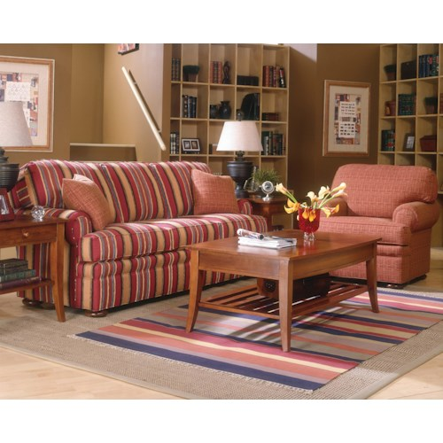 Fairfield 3722 Stationary Living Room Group