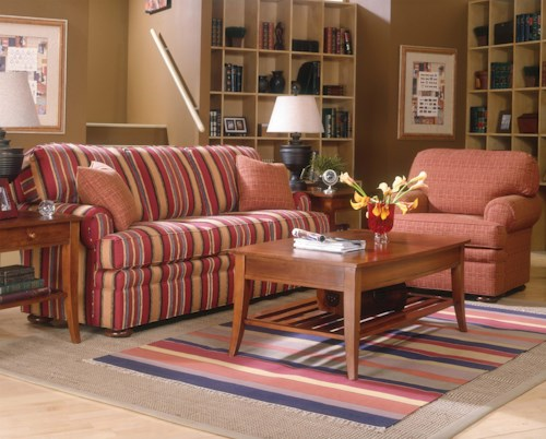 Fairfield 3722 Stationary Living Room Group
