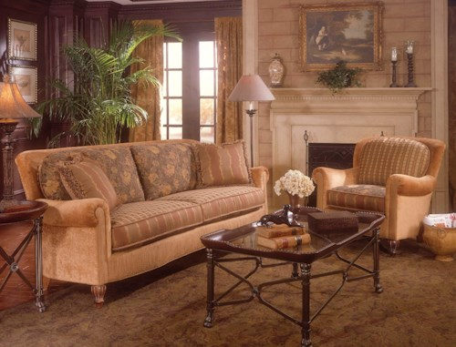 Fairfield 3724 Stationary Living Room Group