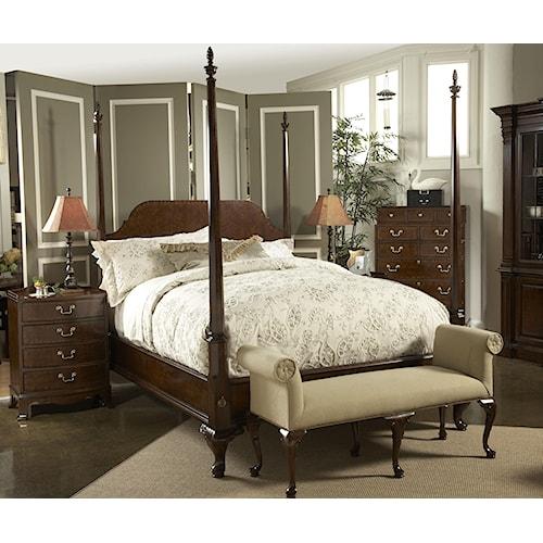Fine Furniture Design American Cherry Queen Bedroom Group