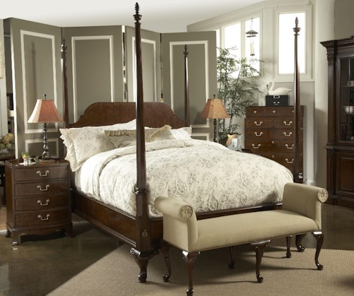 Fine Furniture Design American Cherry California King Bedroom Group