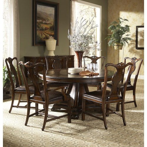 Formal Dining Room Design: Fine Furniture Design Hyde Park Formal Dining Room Group
