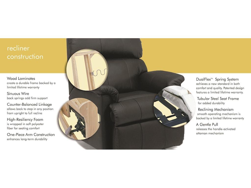 Flexsteel MarleyPower Recliner with Power Headrest