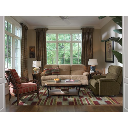 Flexsteel Chicago Reclining Living Room Group