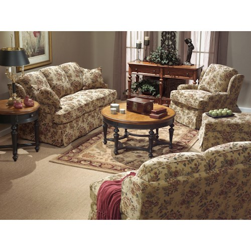 Flexsteel Danville Stationary Living Room Group