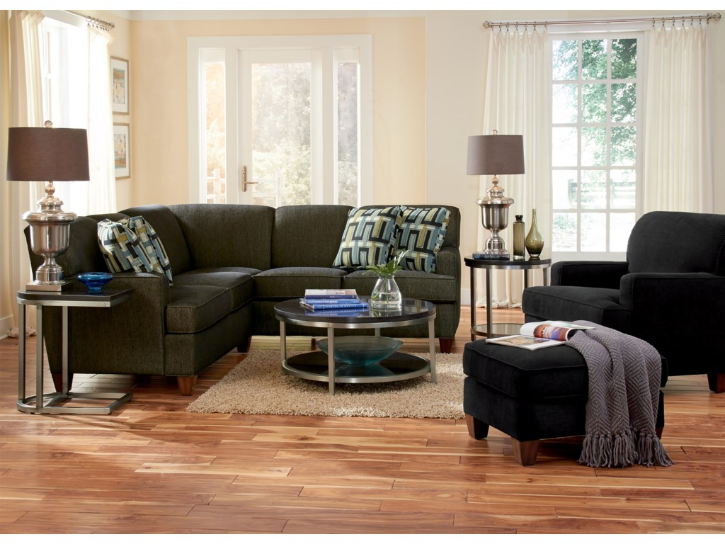 Flexsteel DempseyStationary Living Room Group