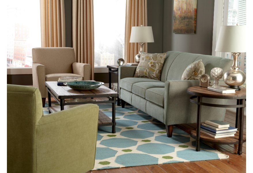 Flexsteel Digby Stationary Living Room