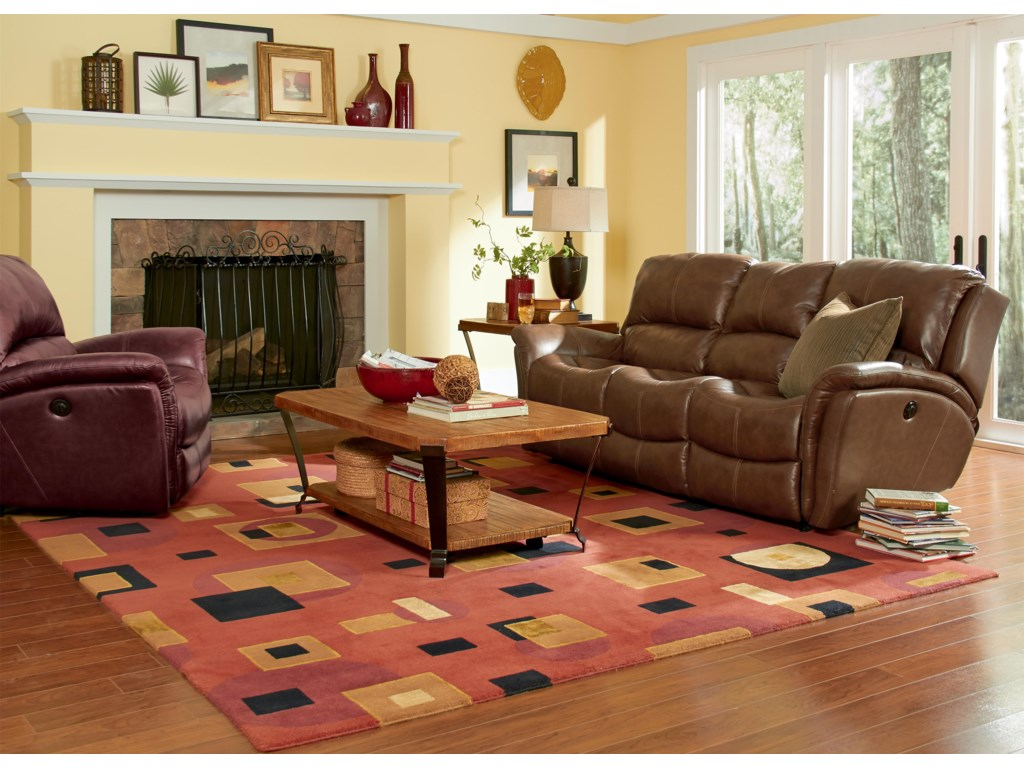 Flexsteel Latitudes - DominiqueReclining Living Room Group