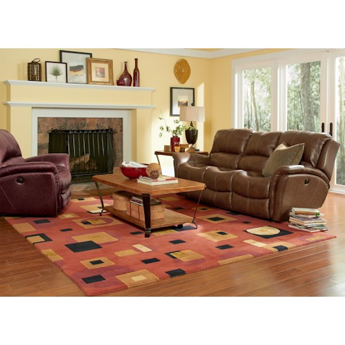 Flexsteel Latitudes - Dominique Reclining Living Room Group