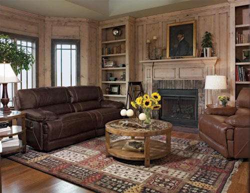 Flexsteel Latitudes - Fleet Street Reclining Living Room Group
