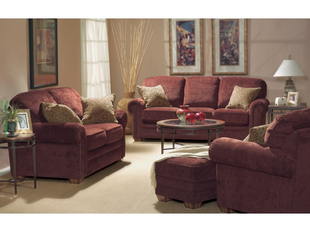 Flexsteel HarrisonStationary Living Room Group