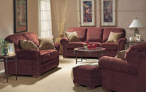 Flexsteel Harrison Stationary Living Room Group