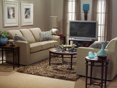 Flexsteel Lakewood Stationary Living Room Group