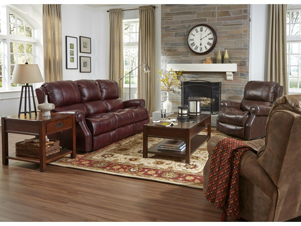 Flexsteel Latitudes-MilesReclining Living Room Group