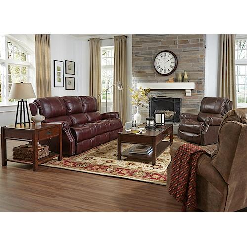 Flexsteel Latitudes-Miles Reclining Living Room Group