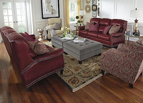 Flexsteel Latitudes-Sting Ray Stationary Living Room Group