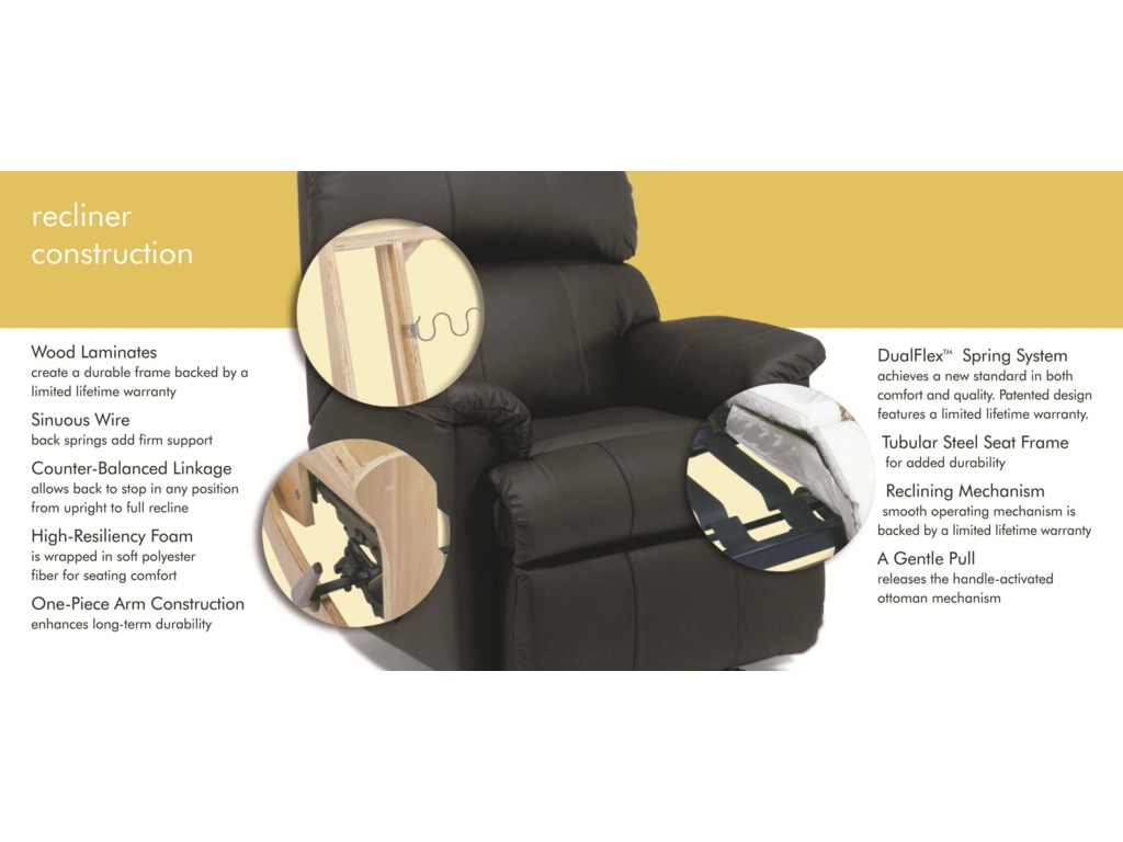 Flexsteel MackenziPower Rocking Recliner (No Nailheads)