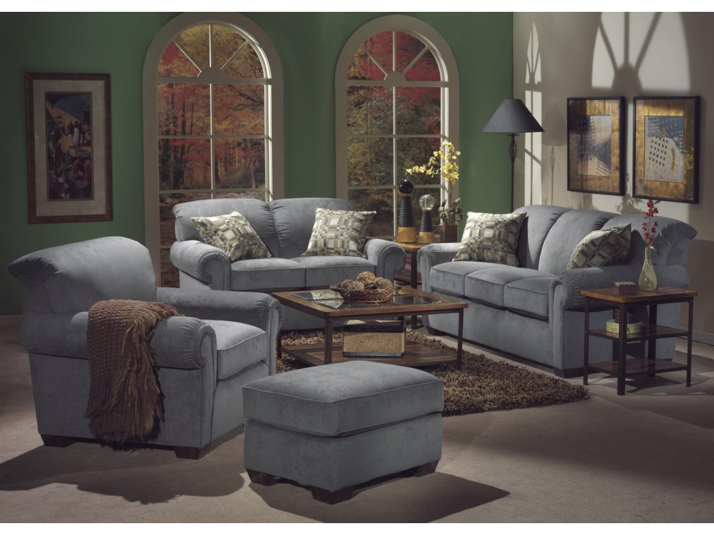 Flexsteel Main StreetStationary Living Room Group
