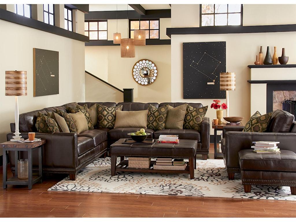 Flexsteel Latitudes - Port RoyalStationary Living Room Group