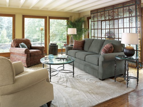 Flexsteel Whitney Stationary Living Room Group