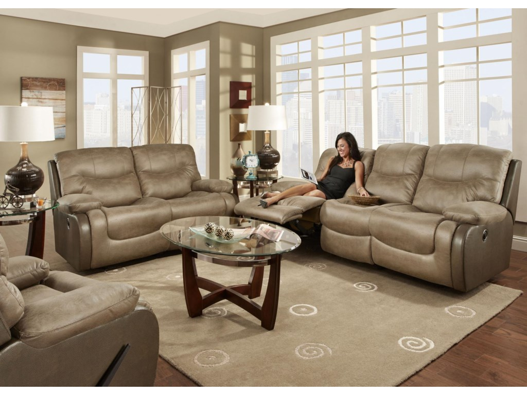 Franklin HolbrookReclining Living Room Group