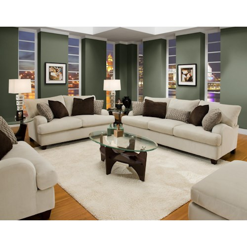 Stationary Living Room Group 809 By Franklin Wilcox Furniture Upholstery Group Corpus