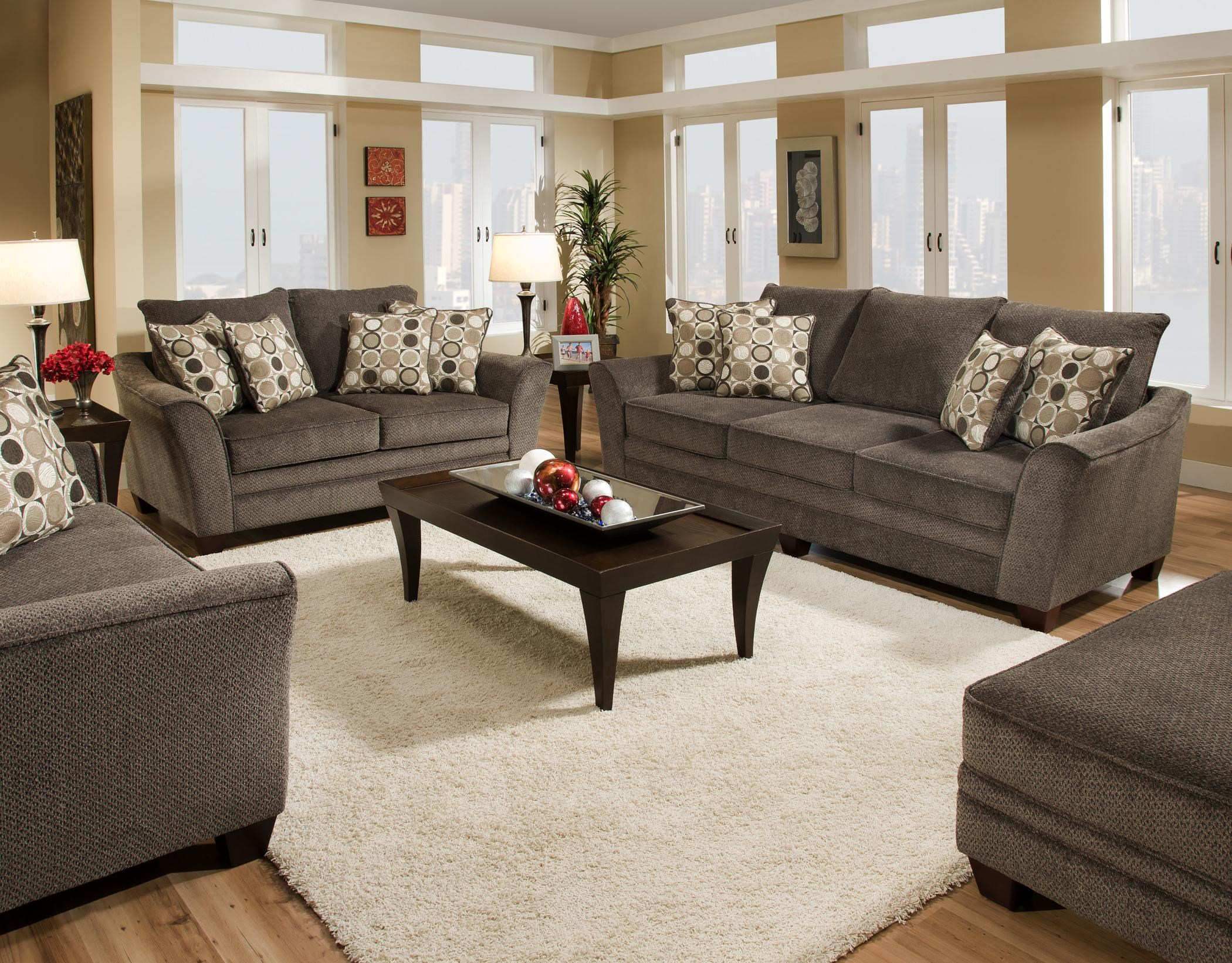 Charmant Franklin 811 Abbot Stationary Living Room Group