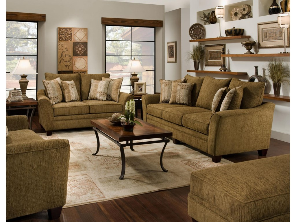 Franklin 811 EmilyStationary Living Room Group