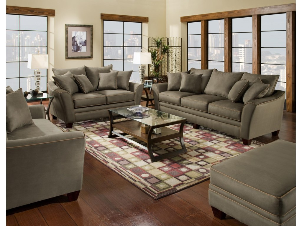 Franklin 811 EnduraStationary Living Room Group