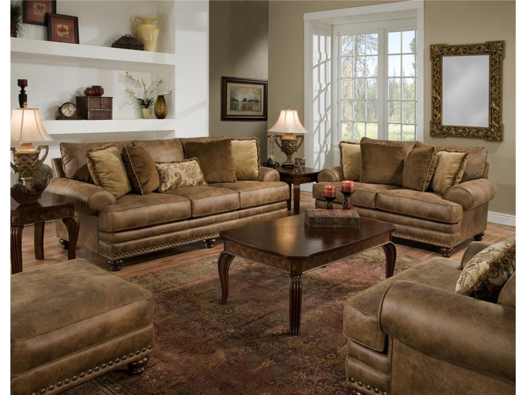 Franklin 817Stationary Living Room Group