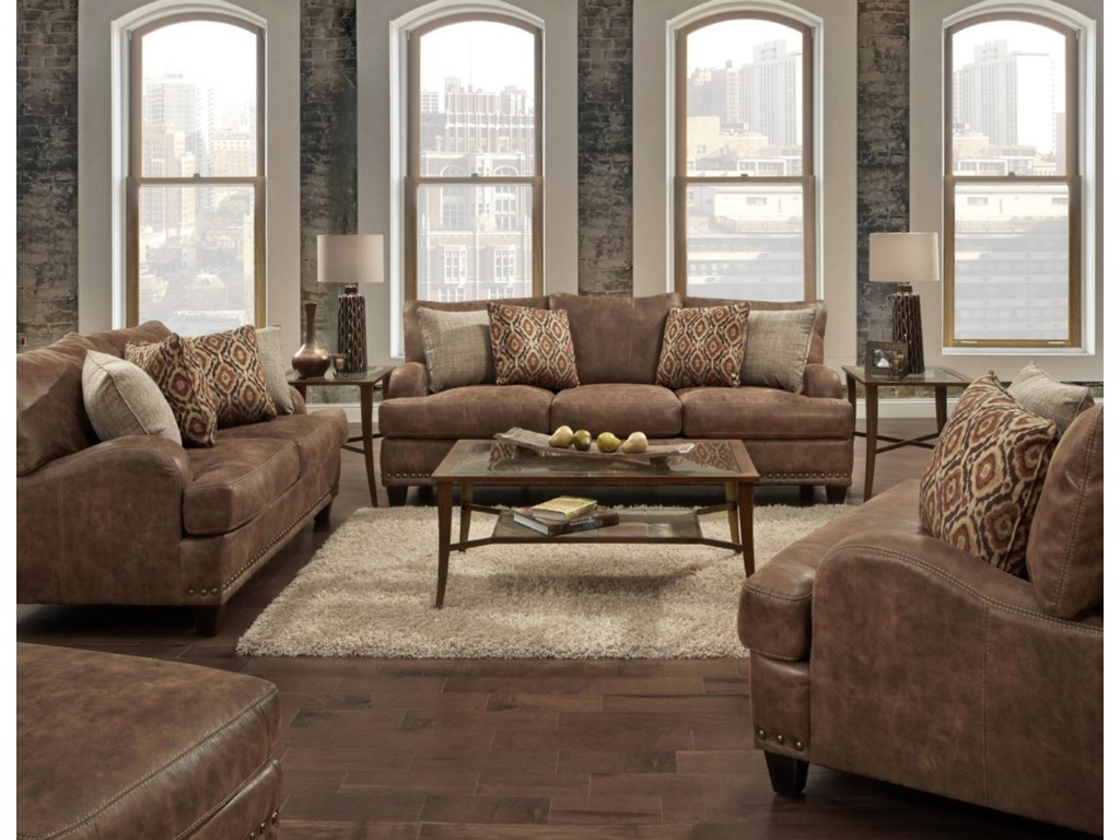 Franklin 848Stationary Living Room Group