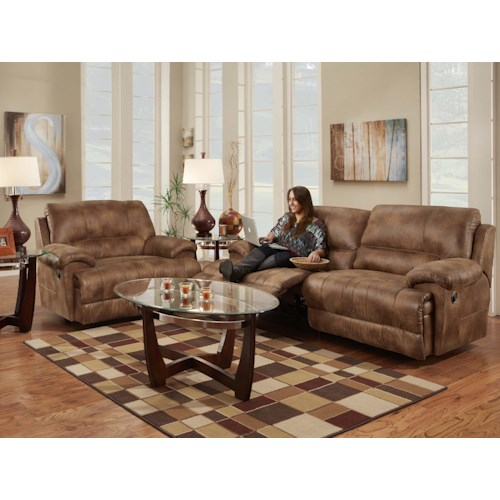 Franklin Caswell Reclining Living Room Group Furniture Superstore Rochester Mn Reclining