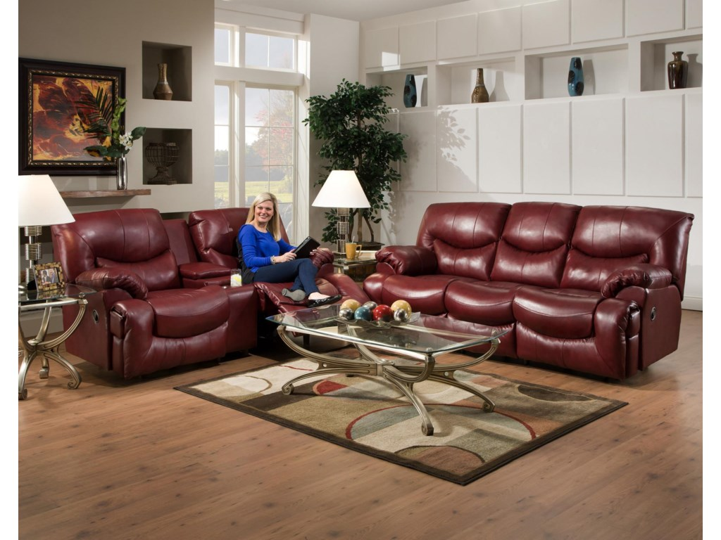 Franklin ChallengerReclining Living Room Group