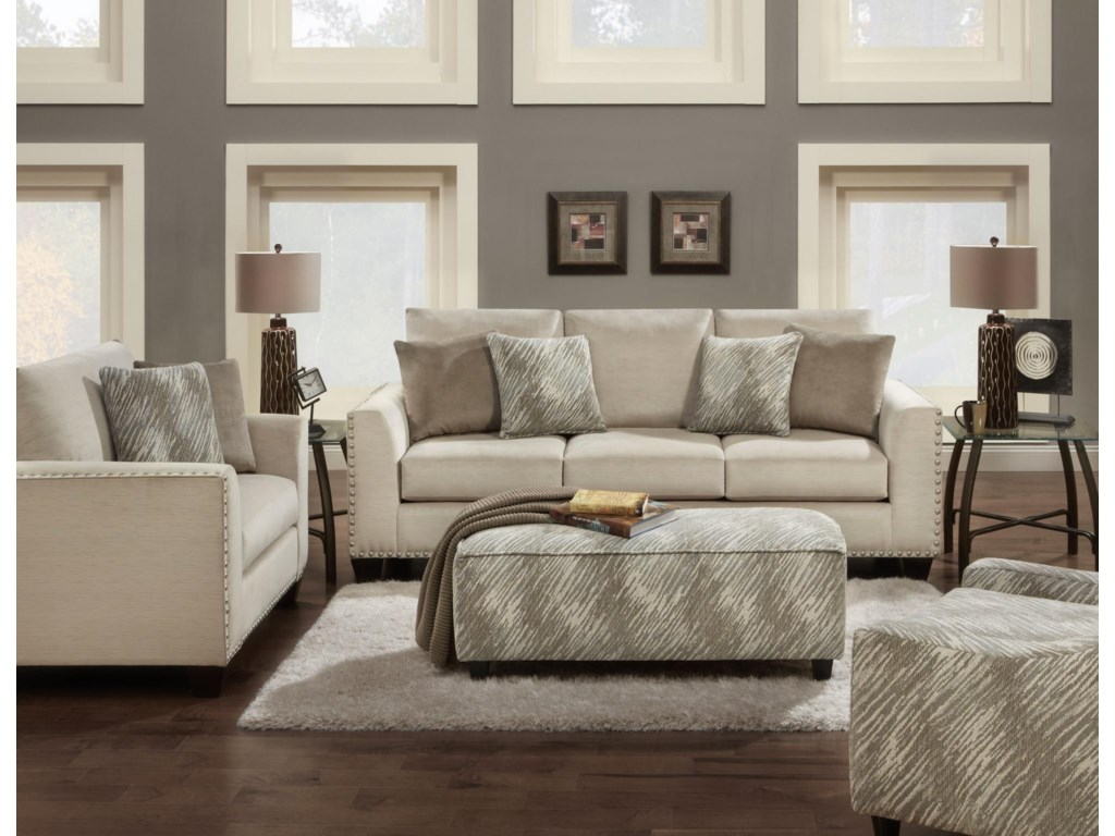 Haley Jordan 1460Stationary Living Room Group