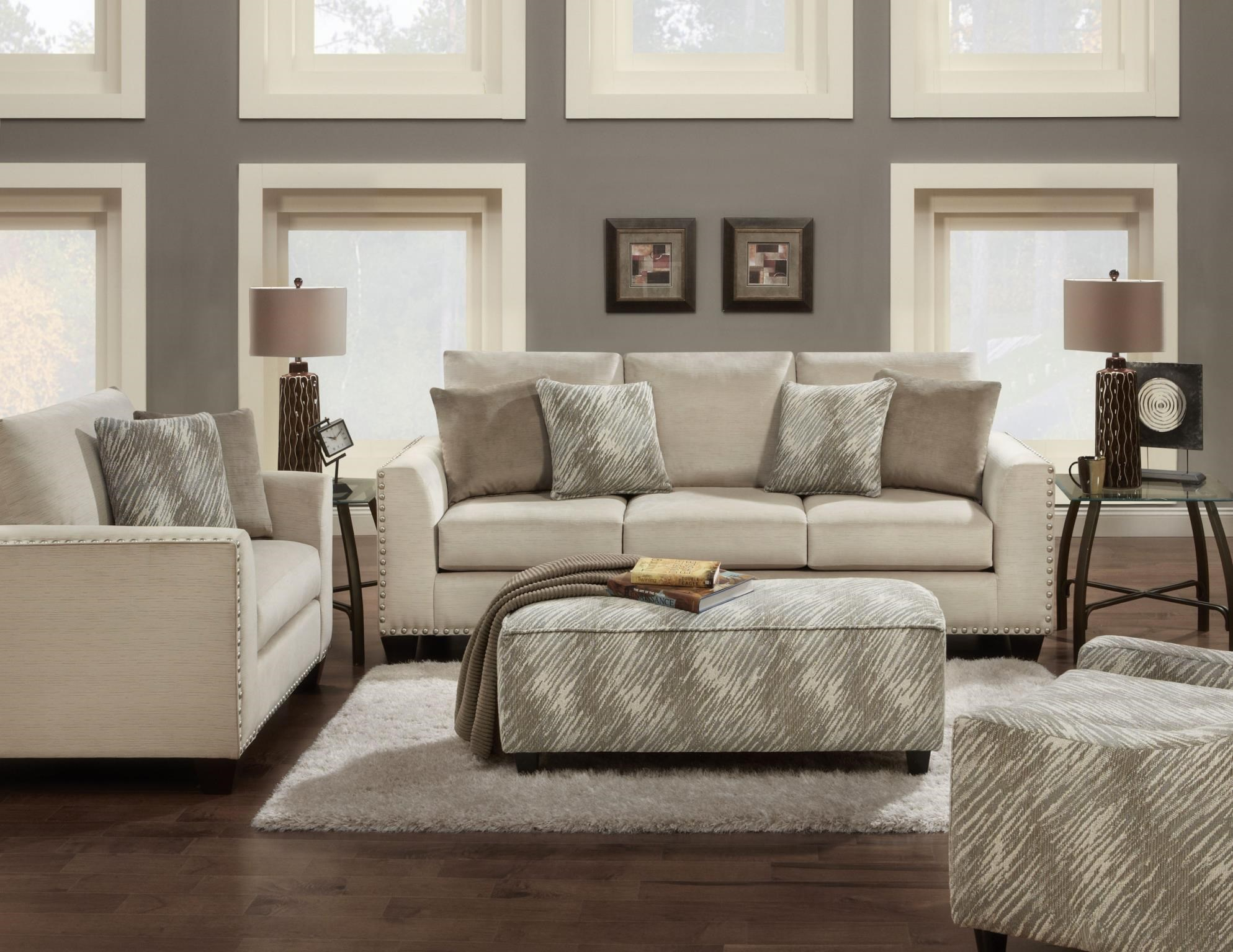 Fusion Furniture 1460 Stationary Living Room Group