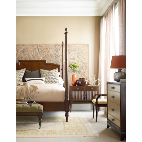 Henredon Acquisitions Paris  Queen Bedroom Group 1