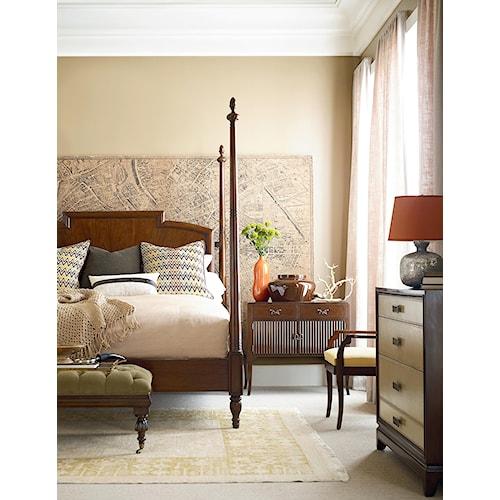 Henredon Acquisitions Paris  California King Bedroom Group 1