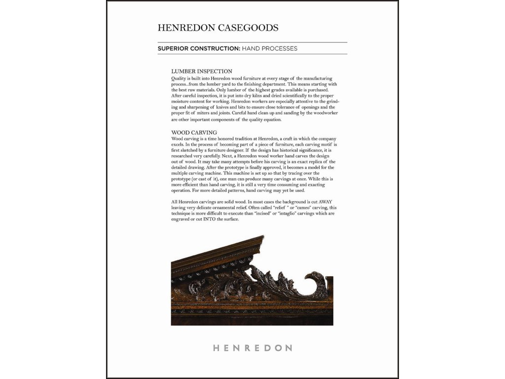 Henredon AcquisitionsBuffet