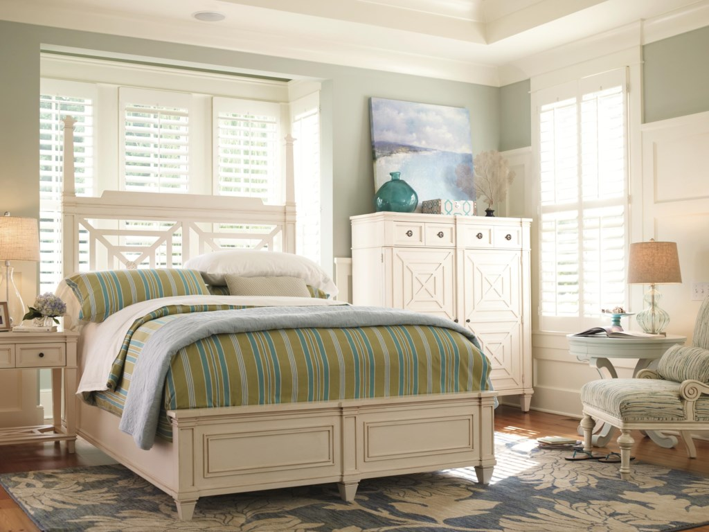 HGTV Home Furniture Collection Water's Edge Full Bedroom Group