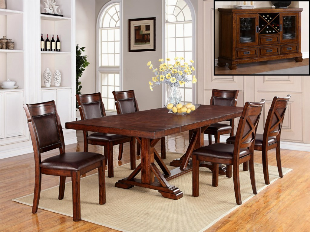 Adirondack Formal Dining Room Group By Warehouse M At Pilgrim Furniture City