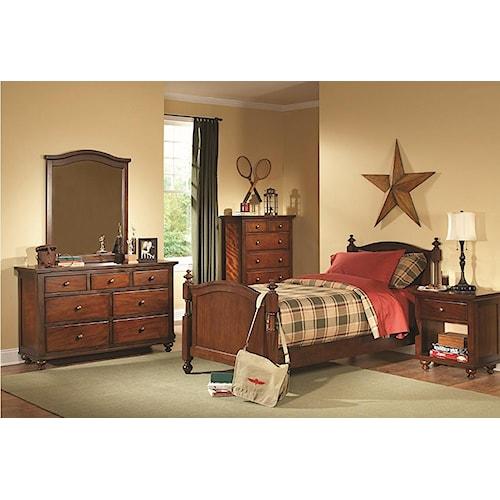 Homelegance Aris Full Bedroom Group