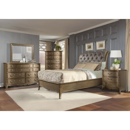 Homelegance Chambord Queen Bedroom Group