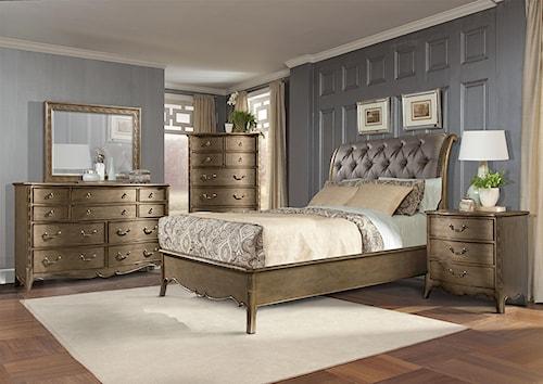 Homelegance Chambord Queen Bedroom Group