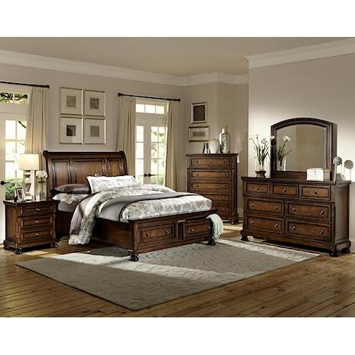 Homelegance Cumberland  King Bedroom Group