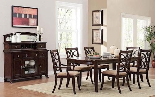 Homelegance Keegan Formal Dining Room Group