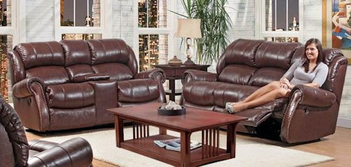 Comfort Living 120 - 22 Reclining Living Room Group