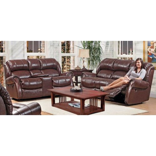 HomeStretch 120 - 22 Reclining Living Room Group