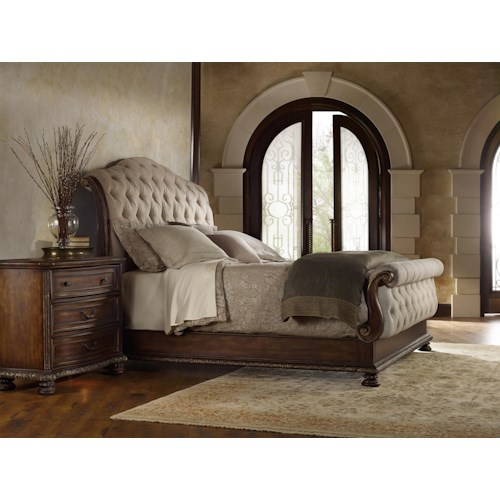 Hooker Furniture Adagio California King Bedroom Group