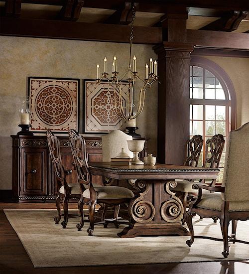Hooker Furniture Adagio Formal Dining Room Group