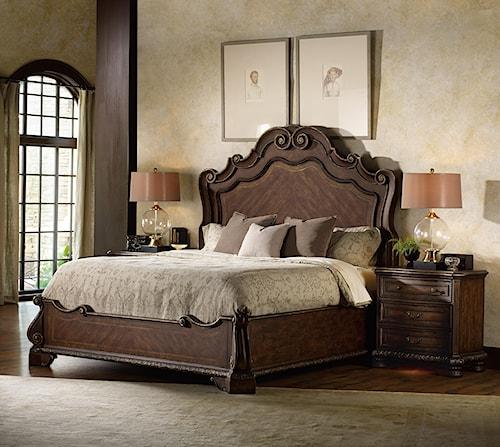 Hooker Furniture Adagio King Bedroom Group